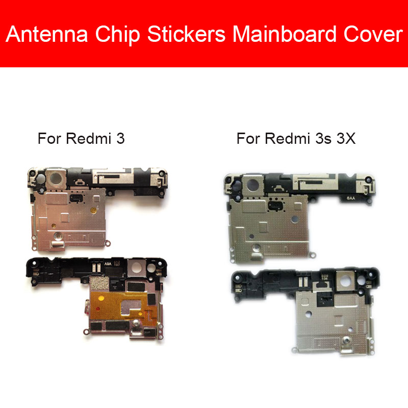 Antenna Chip Stickers Mainboard Cover For Xiaomi Hongmi Redmi 3S 3X Back Rear Frame Cover On Antenna And Mainboard Case Repair