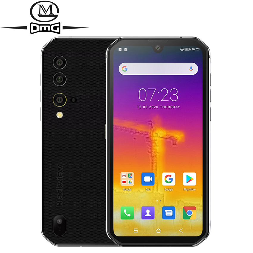 Blackview a BV9900 Pro NFC 8GB 128GB cámara térmica móvil teléfono Helio P90 Octa Core 4G Smartphone robusto 48MP Quad cámara trasera XGODY mateX 3G Smartphone 6