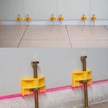Wall Tiles Leveler Regulator Construction-Tool Positioner Ceramic Height-Adjustment 10pcs