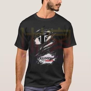 T-Shirt 2020 Fashion Men T-Shirt Ra Triumph Tiger Clothes Popular T-Shirt Crewneck 100% Cotton Tees made in 1976 all original parts novelty birthday t shirt men clothes normal tees cotton crewneck t shirt