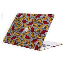 Accesorios de estampado de Ankara de Moda Africana, MAC book Pro 13 A2159, barra táctil + cubierta de teclado, hecho funda de Macbook estampado de ankara