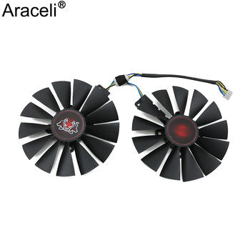 FDC10M12S9-C DC12V 0.25AMP GTX1070Ti For ASUS GeForce GTX 1070 Ti CERBERUS Graphics Card Cooling Fan image