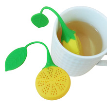 1pc Silicone Teabag Strawberry Lemon Tea Infuser kettle Loose Tea  Strainer Herbal Spice Filter Tea Tools  holder