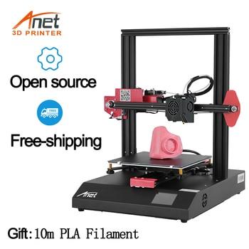 Anet ET4/ET4X 3D Printer Kits High Precision 220*220*250mm  All Metal Frame FDM Kit DIY 3D Printer with 10m Filament anet a6 desktop 3d printer kit with metal acrylic frame