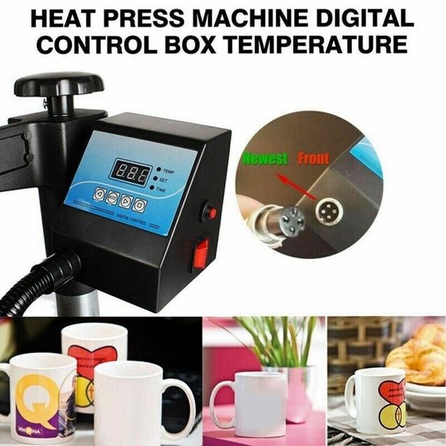Régulateur de température numérique de presse de chaleur de boîte de contrôle numérique pour le thermorégulateur de commutateur de régulateur de température de tasse/plaque/chauffe-eau
