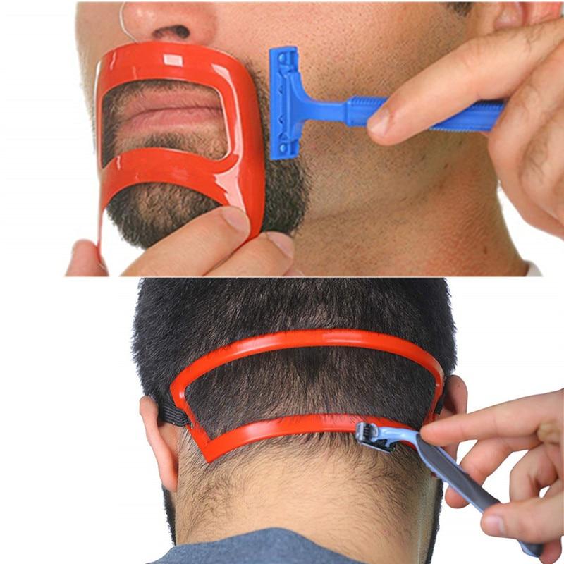 New Fashion Salon Barber Neck Hair Line Guide Neckline Haircuts Template Hair Tool Hair Template Neck Hairline Shaper Stencil