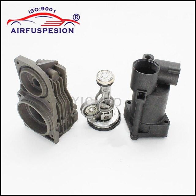 Für Mercedes W164 W221 W251 W166 Pleuel Kolben Zylinder Luftfederung Kompressor Pumpe Reparatur Kits 1643201204 2213201304