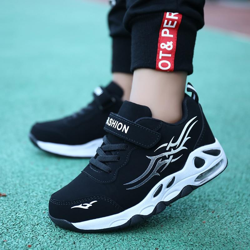 SKHEK Big Children Sport Shoes For Boys Kids Casual Shoes Light Breathable Sport Running Sneaker Girls School Trainers Autumn
