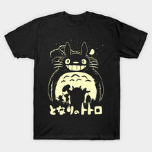 Men t-shirt Totoros smile tshirt Women t shirt(China)
