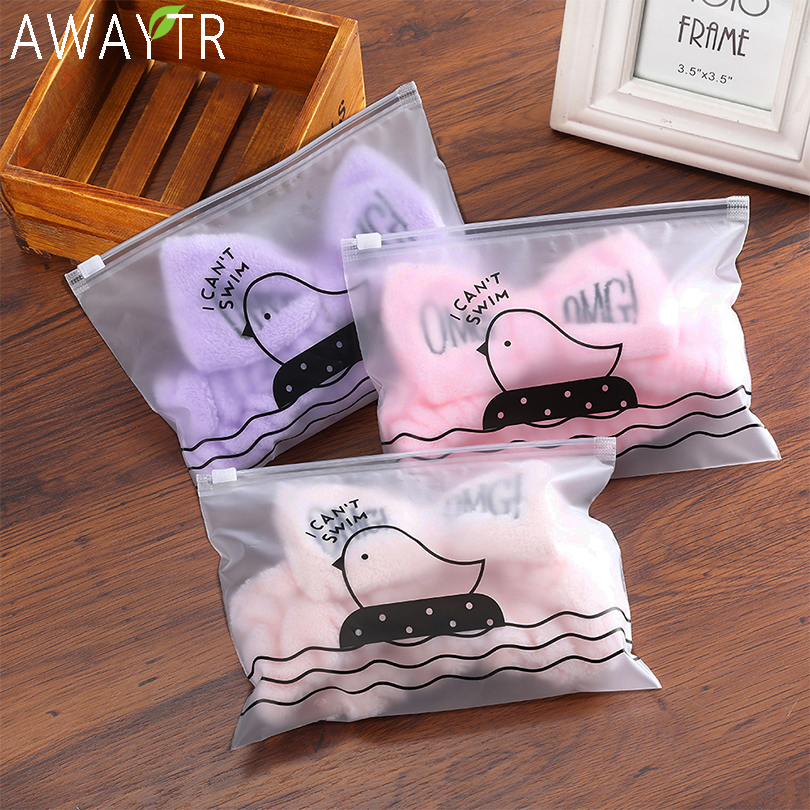 Bag Packed OMG Letter Coral Fleece Wash Face Bow Hairbands For Women Girls Headbands Headwear Hair Bands Turban Hair Accessories