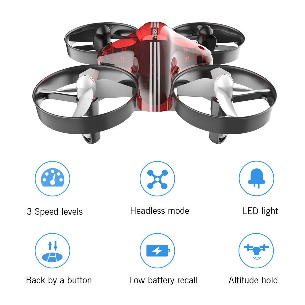 APEX Mini Drone RC Quadcopter Racing Drones Headless Mode With Hold Altitude Plan Remote Control Aircraft Toys Dron Best Gift 2
