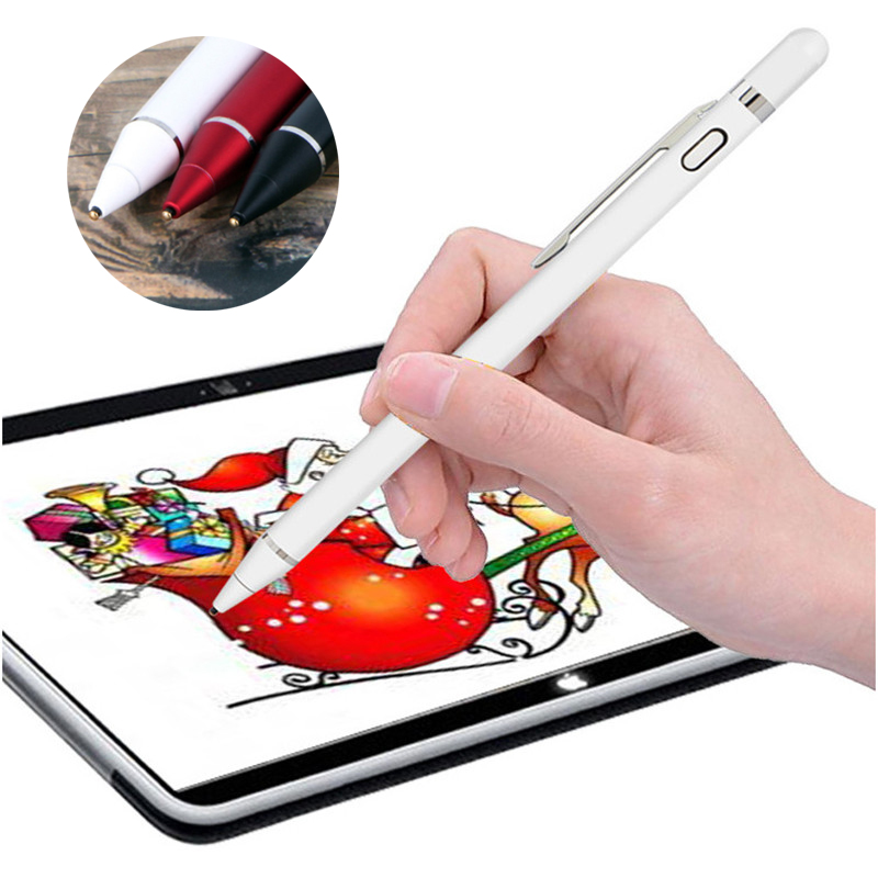 Universal Active Stylus Pen Capacitive Touch Screen Pen For Apple Pencil Touch Pen Tablet Draw For IPad For IPhone For Android