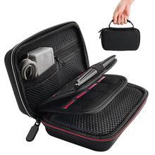EVA twardego przenoszenia obudowa ochronna torba 16 miejsc na karty akcesoria do grania torby do przechowywania dla nowych Nintend 2DS LL/XL/3DSXL LL