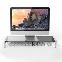 Computer Notebook Desktop Stand Desk Table Screen Riser Tablet Phone Laptop Charging Holder Tempered Glass USB Charging|Tablet Stands|Computer & Office -