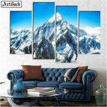 5d diamond painting full square mountain landscape sticker decoration mosaic crafts