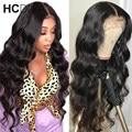 13X4 парик из человеческих волос с волнистыми волосами, 150% перуанский парик из человеческих волос Remy, предварительно выщипанные Детские воло...