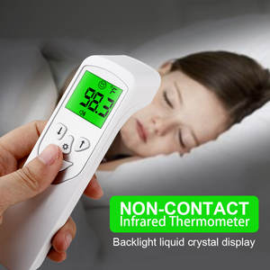 Infrared Digital-Thermometer Display Forehead Adult Lcd No with Backlight High-Accuracy