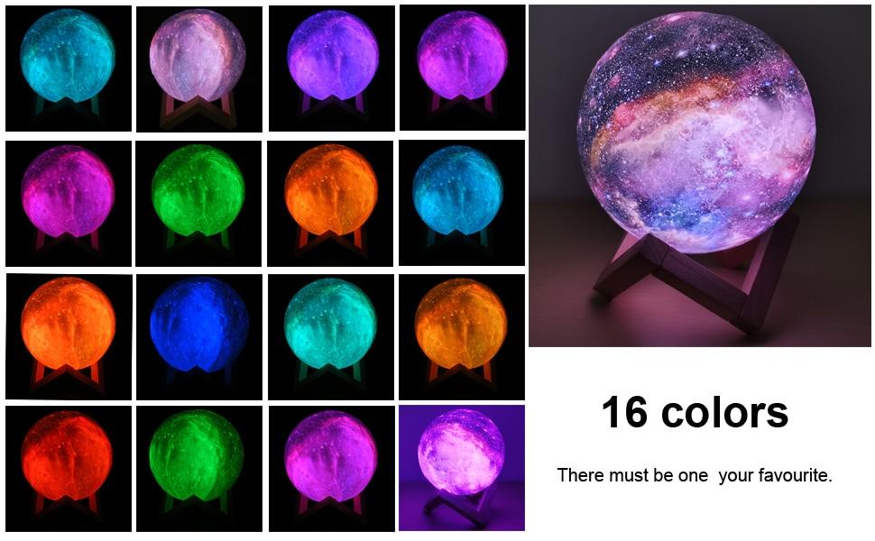 3D Moon Lamp - Avanti-eStore