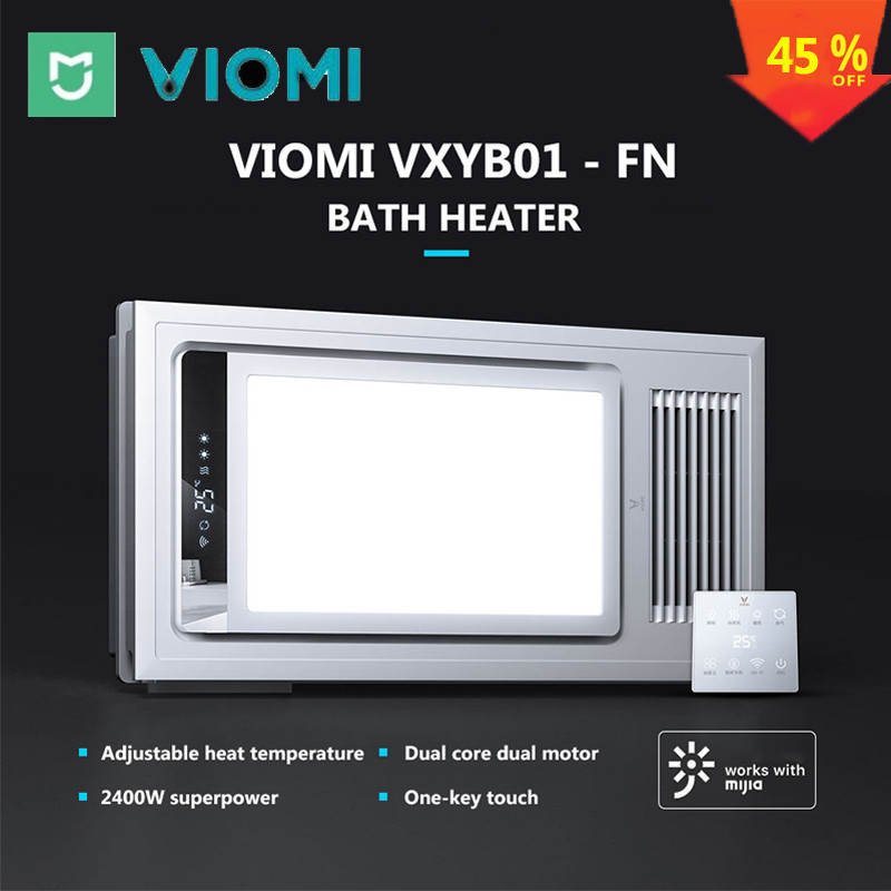 VIOMI 4 In 1 Smart LED Bath Heater Pro Ceiling Light Bathing Light For Mihome APP Remote Control For Bathroom
