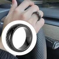 炭素繊維車スマート指キーリングとテスラためのモデル3/x/s/y通年自動セキュリティsystermボタンキー