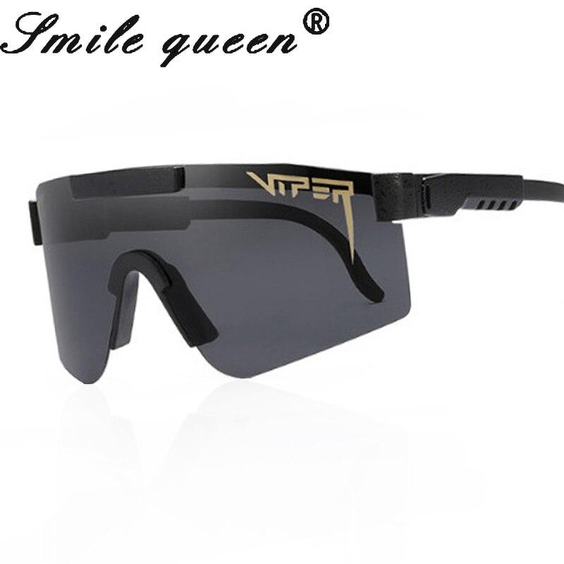 Pit Viper TR90 Polarized Sunglasses Men Fashion Design Rimless Square Sun Glasses Mirror Driving Sunglasses Oculos UV400