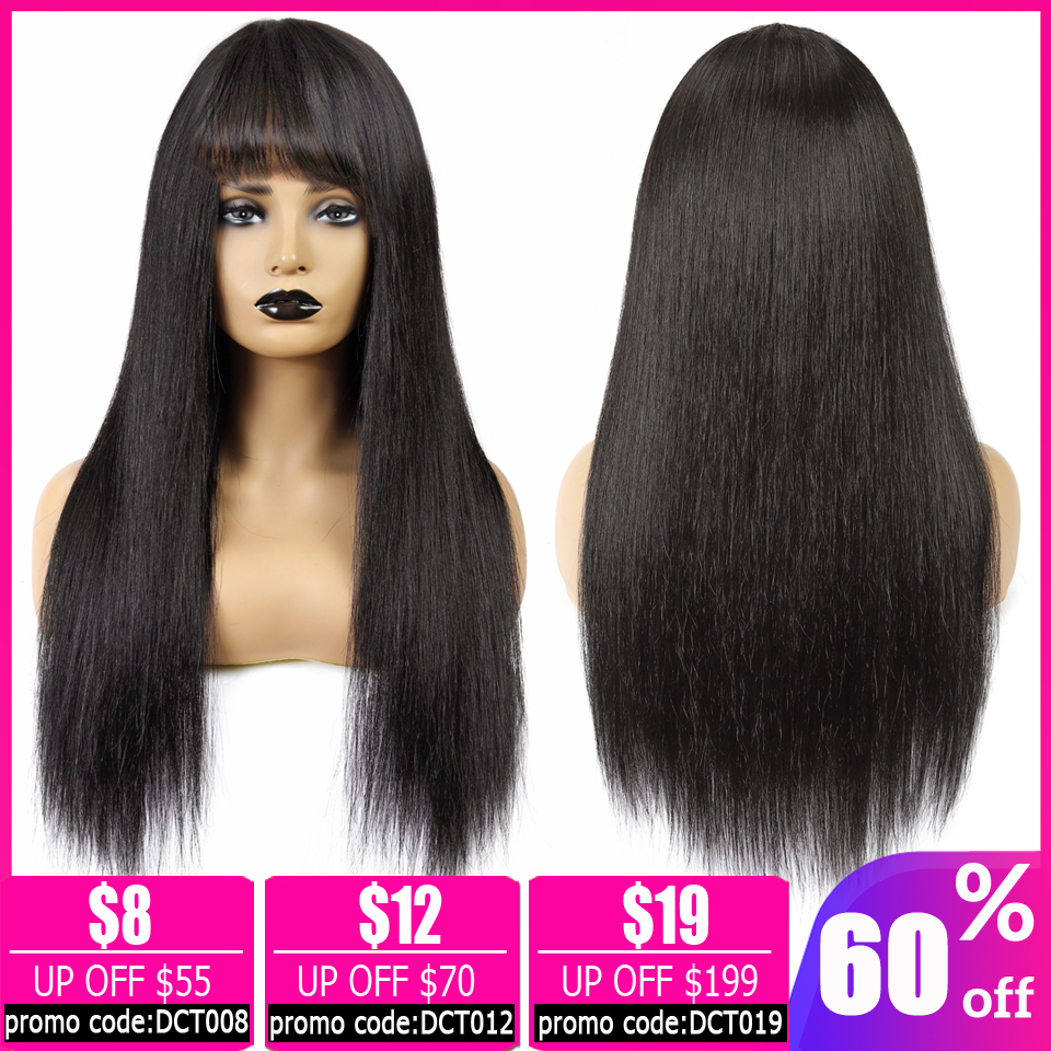 Wholesales Price Brazilian Straight Pixie Cut Bob Wig Long And Short Human Hair Wigs For Women With Bangs Machine Made Non-Remy