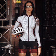 Jackets Cycling-Jersey Santic Women MTB Long-Sleeve Sports Summer Spring Breathable Quick-Drying