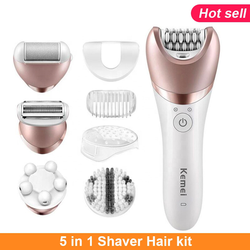 5in1-kit-shaver-electric-epilator-female-electric-depilatory-trimmer-lady-facial-cleaning-brush-face-massage-hair-removal