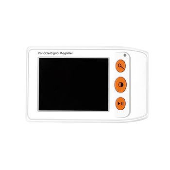 Digital Magnifier 2-25X Magnification 3.5 Inch LCD Screen Seniors Reading Aid X4YD