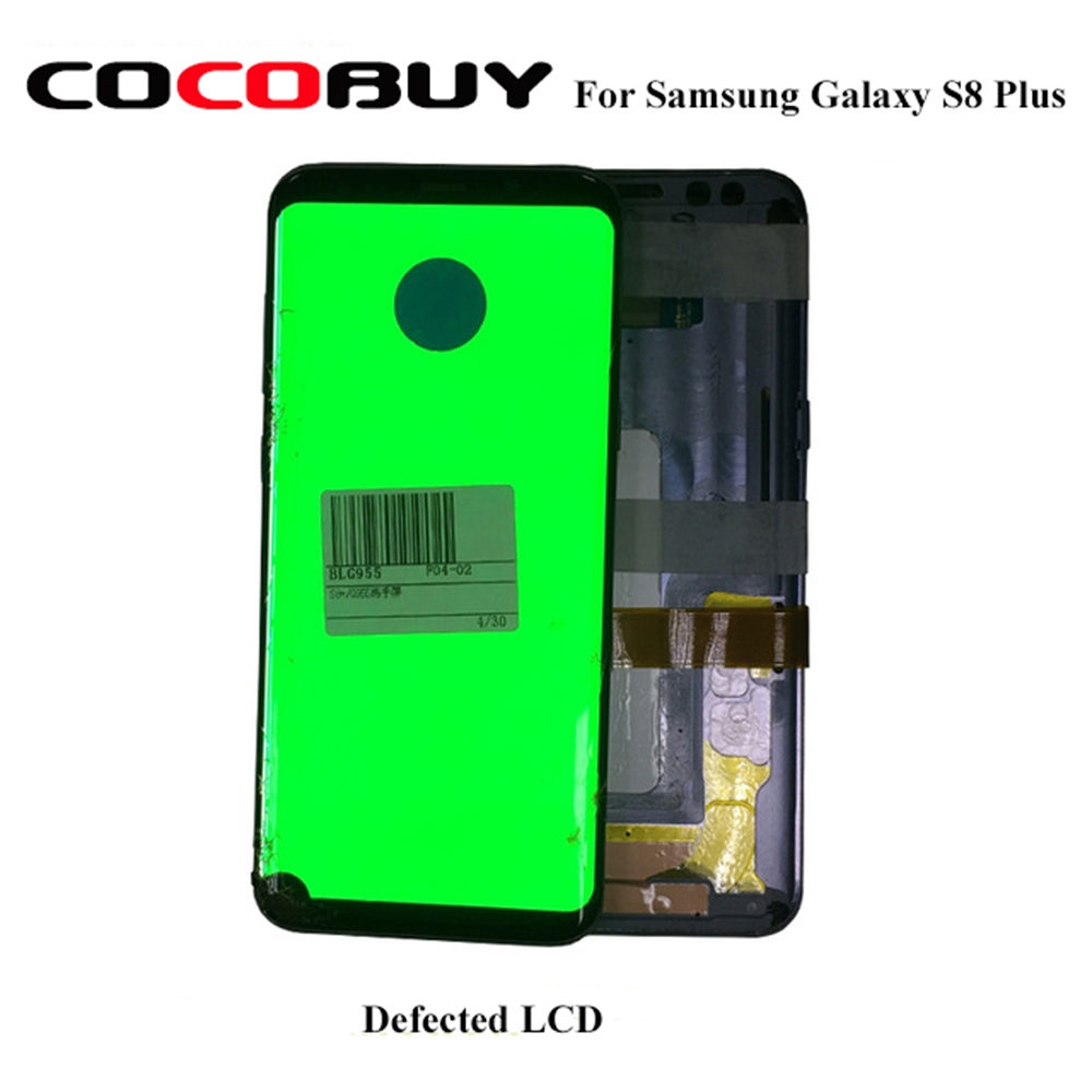 Well Function Defected LCD With A Dot For Samsung Galaxy S8  S8Plus Glass/Middle Frame Separation And Lamination Practice Using