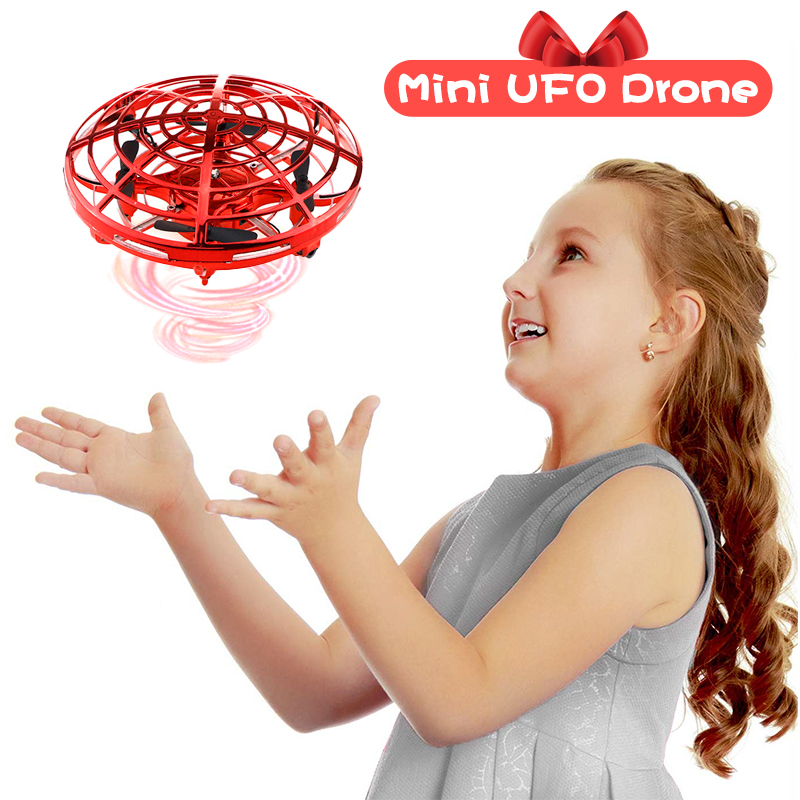 Mini Drone UFO Hand Operated RC Helicopter Quadrocopter Drone