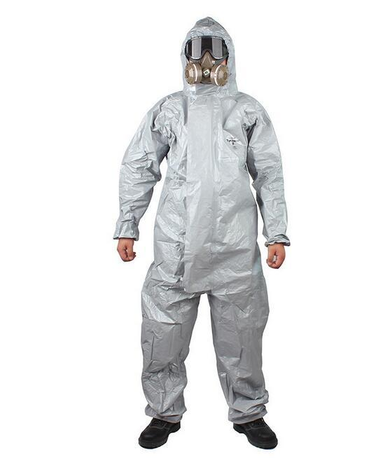 DuPont Tychem F Class Chemical Protection Suit Anti-Acid Anti-Strong Acid Chemical Protective Clothing Organic Solvent Protectio