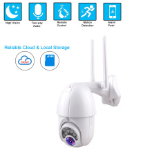 1080P PTZ IP Camera Wifi Outdoor Weatherproof Speed Dome CCTV Security Wireless Camera 4X Digital Zoom 2MP Network Surveillance high speed mini 4 inch ptz 480tvl 1 3 sony ccd10x digital zoom 3 9 39mm cctv camera outdoor surveillance dome security