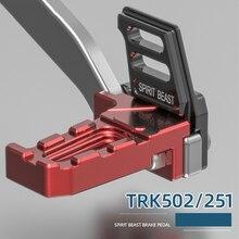 חית רוח אופנוע רגל מנוחת יתד דוושת הדום Footpeg כיסוי עבור בנלי TRK502 TRK251 TNX Trk502X
