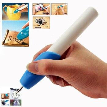 Φορητό Στυλό Χάραξης σε Γυαλί, Ξύλο, Πλαστικό και Μέταλλο για Χειροτεχνίες και Κατασκευές