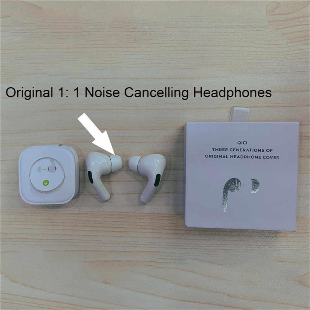 רעש הוכחה סיליקון אוזן טיפים כיסוי עבור אפל Airpods פרו אלחוטי אוזניות באוזן Eartips ניצני אוזן שרוול עבור airpods פרו