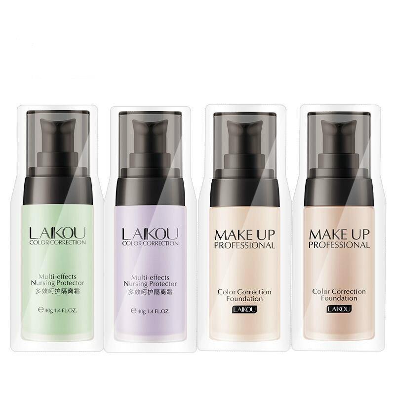 Праймер для лица основа для макияжа солнцезащитный крем контроль жирности отбеливание невидимые поры лица масло макияж База праймер мален...