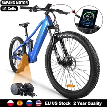 Ebike-Kit Bicycle Mid-Motor Mountain-E Bafang Electric-Bike-48v Full-Suspension Powerful