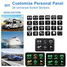 6-Position Switch Panel Electronic Relay System Circuit Control Box Fuse Relay Box Wiring Harness Assemblies For Car Truck Boat