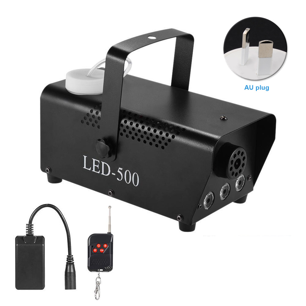 Smoke Wireless Portable Party Stage Remote Control Fog Machine RGB Light Multi-color