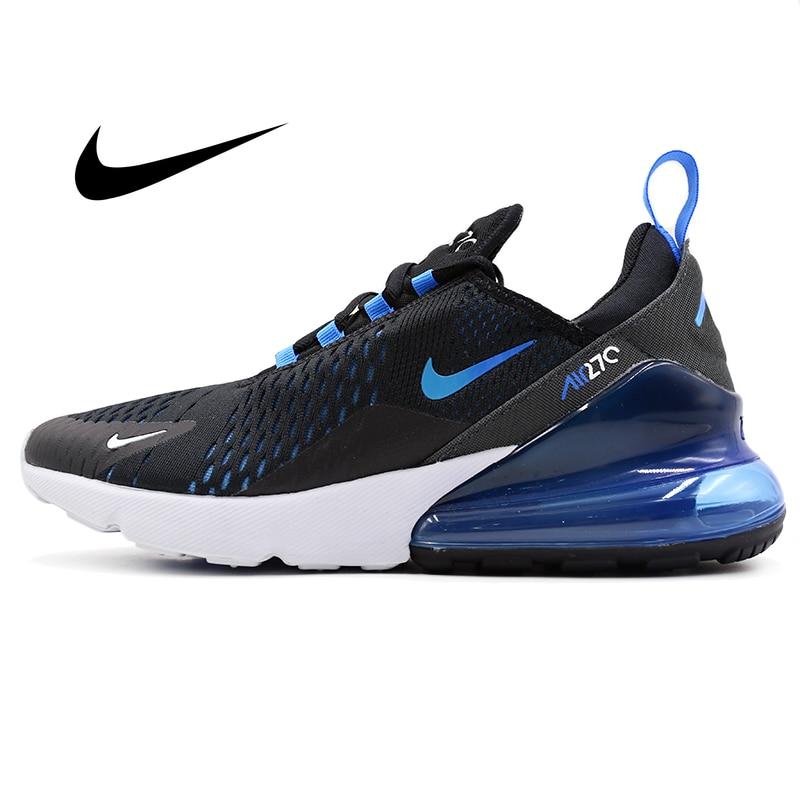 Original Nike Air Max 270 Men's Running Shoes Classic Outdoor Sneakers Fashion Designer Footwear Damping Anti-slippery AH8050