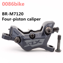 Brake-Caliper Hydraulic-Disc-Brake Four-Piston BR-M7120 Mountain-Bikes