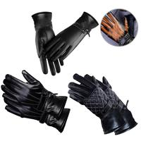 Ski Gloves Waterproof Gloves With Touchscreen Full Finger Leather Motorcycle Cycling Racing Gloves Motocross Protective Gears|Cycling Gloves| |  -