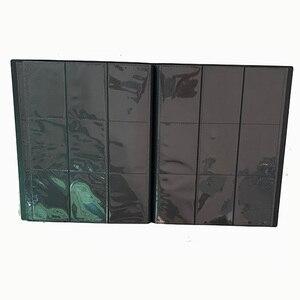 Image 1 - 360 Cards Capacity Cards Holder Binders Albums For Pocket CCG MTG Magic Yugioh Board Game Cards Book Sleeve Holder