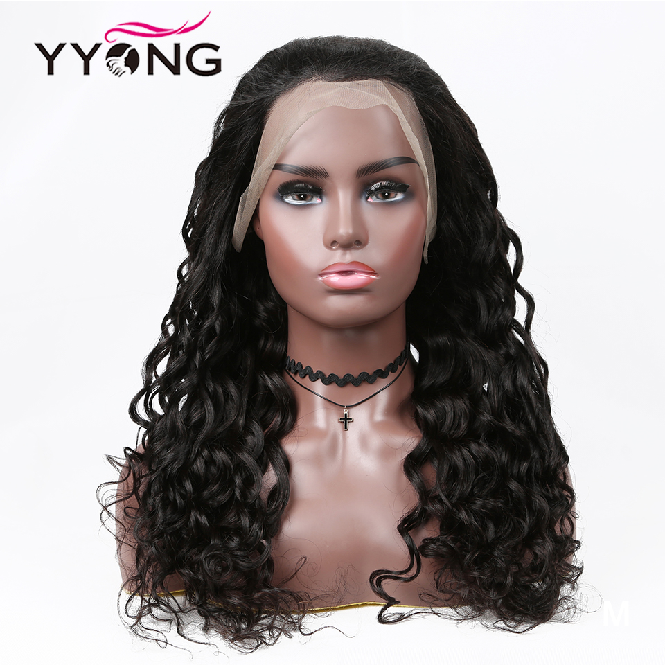 YYong 1x6 T Part Lace Wig 13*1 Hairline HD Transparent Lace Wigs  Loose Deep Wave 4x4 Lace Closure Wig 2