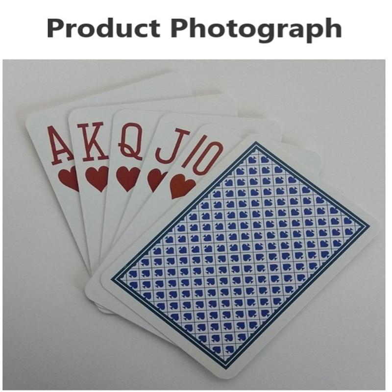 RFID spielkarte smart kunststoff spielkarte RF chip PVC magie bord spiel karte RFID poker HF 13,56 MHz