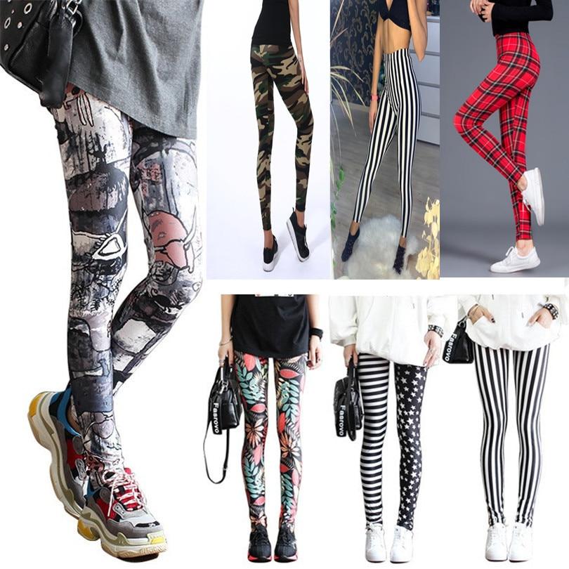 VISNXGI Fitness Leggings Printed Fashion Leggings Trousers Colorful Leg Warmer Woman's Legging Casual Legging Femme Plus Size|Leggings| - AliExpress