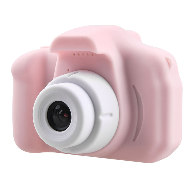 Kids Mini Camera Toy Cute Camcorder Rechargeable Digital Camera with 2 Inch Display Screen Children Educational Toy Outdoor Play 2