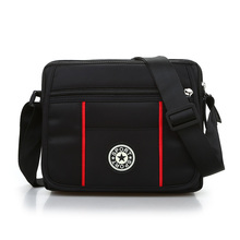 Men Business Shoulder Bags Fashion Waterproof Nylon Messenger Bags Casual Male Function Small Crossbody Collect Wallet fankepolo male bags waterproof nylon oxford cloth travel bag fashion business men shoulder bags casual messenger bag for men