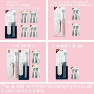 Image 5 - Soocas escova de dentes elétrica escova de dentes ultrassônica cabeça elétrica ex3 dentes branqueamento e limpeza xiao mi produtos ecológicos